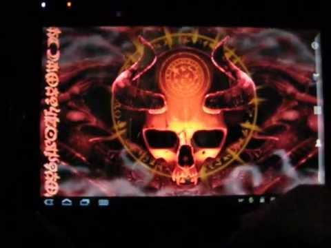 Mystic Skull Live Wallpaper (Donate version)
