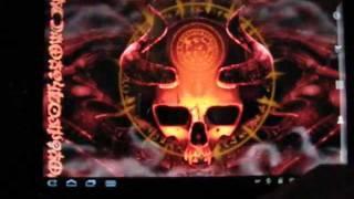 Mystical Skull Live Wallpaper