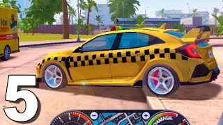Taxi Sim 2020 UPDATE Honda Civic Type R New Car - Android Gameplay #5