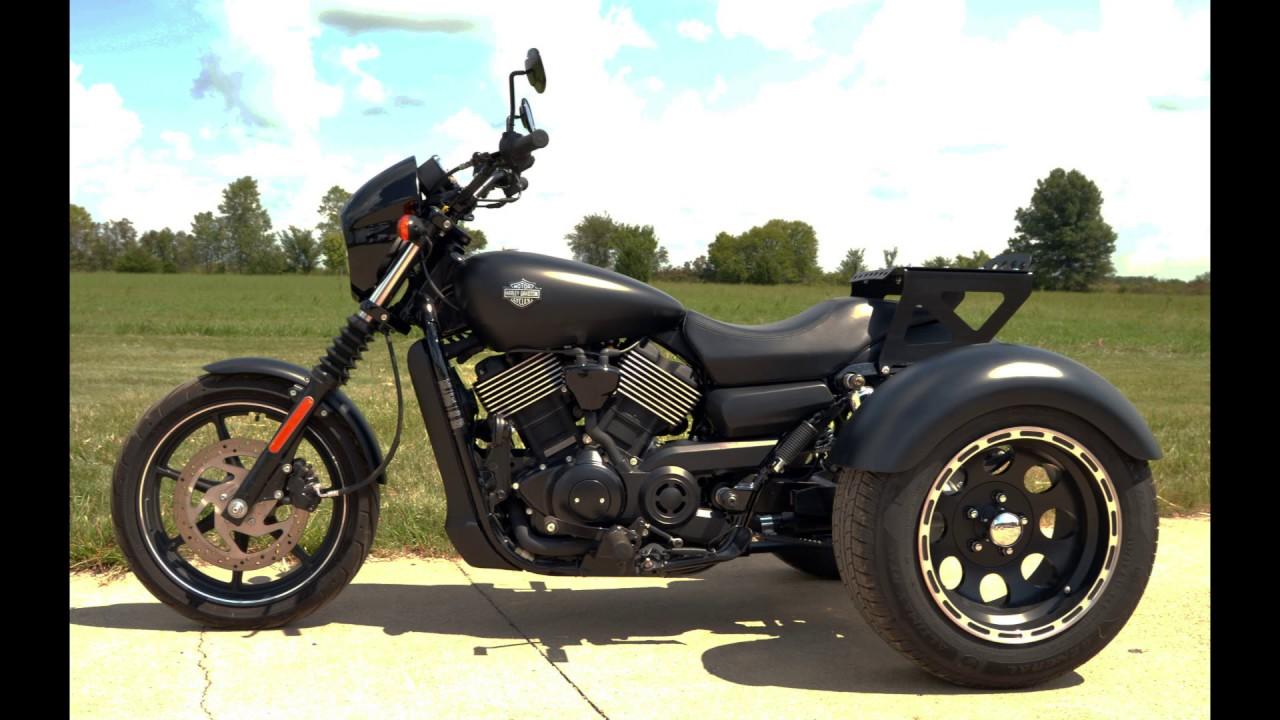 Harley Street 500 >> Frankenstein Trikes: Harley-Davidson Street Trike - YouTube