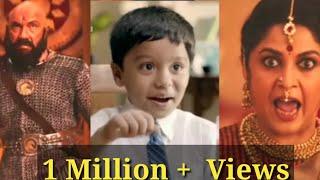 Britania Biscuit Ad Bahubali Version-Shivagami And Kattappa 2018-Dhood Pilo