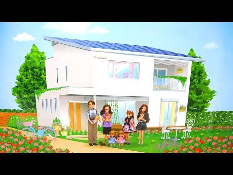 Rumah Boneka Gaya Jepang Baru Untuk Boneka Barbie