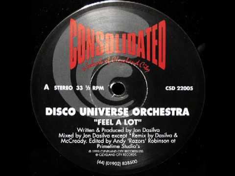 Disco Universe Orchestra - Feel A Lot
