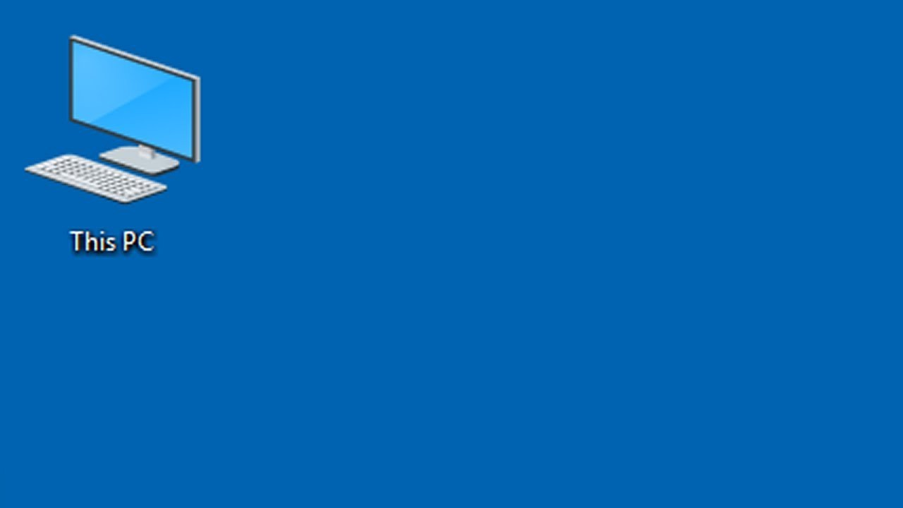 How to put desktop icons windows 10