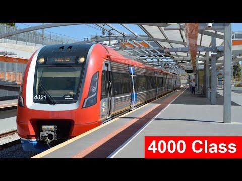 The Adelaide Metro 4000 Class EMU
