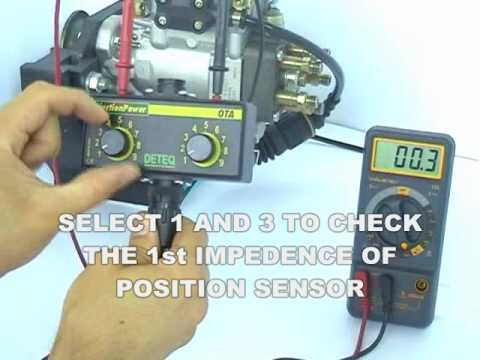 OTA Ohmic Test Interface On Bosch VE Edc And HDK Diesel Fuel Injection Pumps