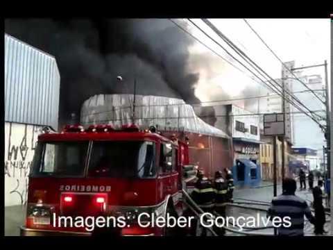 Incêndio destrói lojas no centro de Campinas SP - Maior em 30 anos!