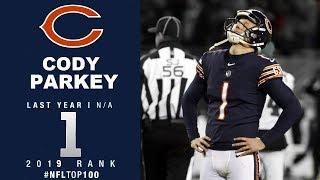 #1: Cody Parkey (Kicker, Bears) | Top 100 Players of 2019 | NFL