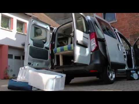 dacia lodgy camping doovi. Black Bedroom Furniture Sets. Home Design Ideas