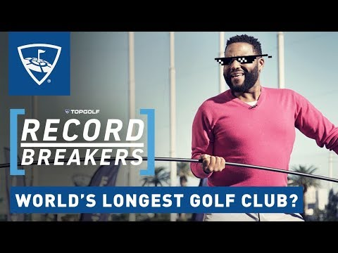 Anthony Anderson Attempts Golfing World Record | Record Breakers | Topgolf