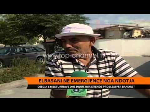 Elbasani në emergjencë nga ndotja - Top Channel Albania - News - Lajme