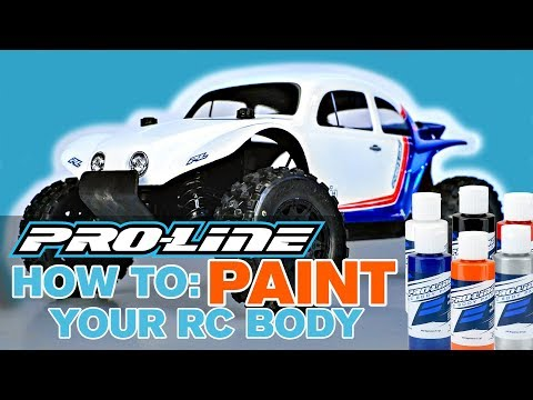 Pro-Line HOW TO: Paint Your RC Body