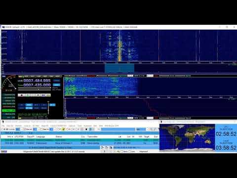 Radio Marti in spanish/castellano on 7435 kHz Shortwave from United States/North Carolina to Cuba