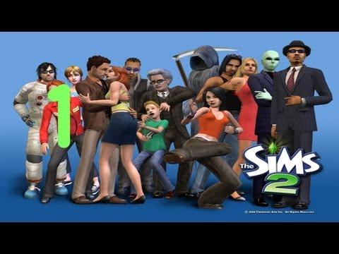 Давайте играть в Sims 2! Часть 1 - Новые люди.