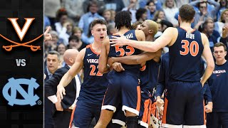 Virginia vs. North Carolina Men's Basketball Highlights (2019-20)