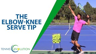 Tennis Serve: Simple Serve Tip to go BETTER & get POWER!