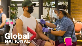 Global National: July 27, 2021 | Persuading Canada's unvaccinated as Delta variant grows