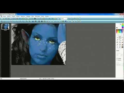 D butant photofiltre studio un effet zombie doovi for Effet miroir photofiltre