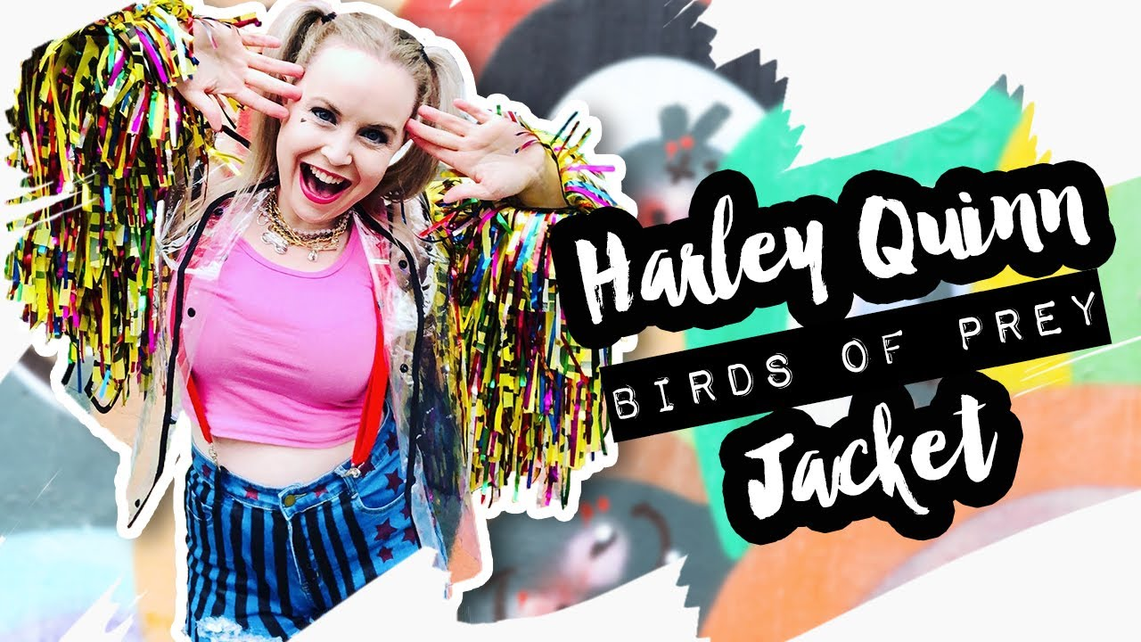 Harley Quinn Caution Tape Jacket From Birds Of Prey Nerdiy Youtube