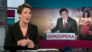 TRMS: La Cantata inspired by disgraced Fmr. U.S. Attorney General Alberto Gonzales - 09 03 2009