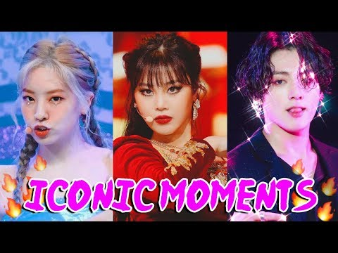 ICONIC KPOP MOMENTS OF 2019 that had me Shook