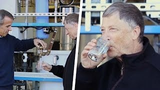 Bill Gates Drinks Human Waste Converted Drinking Water, Would You?