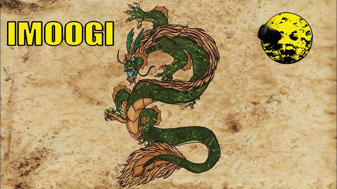 Korean Dragons Mythology: Korean Mythology The Imoogi