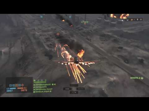 BF4 3rd special forces group A10 Warthog CAS Runs