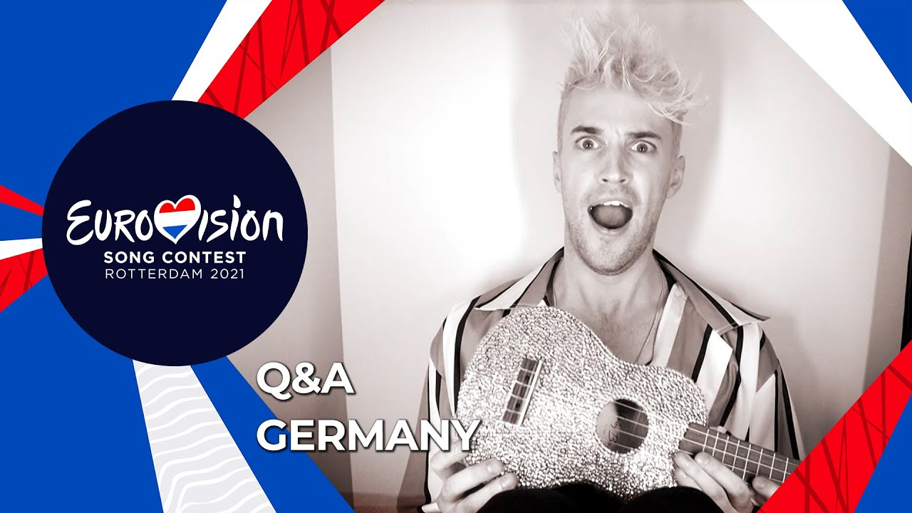 Say Whaaat Q&A with Jendrik from Germany 🇩🇪 - Eurovision 2021