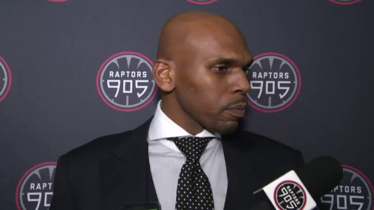 Raptors 905 Post Game Jerry Stackhouse November 18 2016