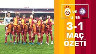 📺 Özet | Galatasaray 3-1 Osmanlıspor (U19 Elit Gelişim Ligi)