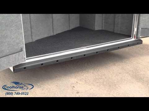 2014 5H Reverse Load Platinum Coach Custom Bumper Pull