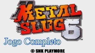 Longplay Metal Slug 6 (PS2) - Modo 2 Jogadores (Co-op Mode) - Jogo Completo