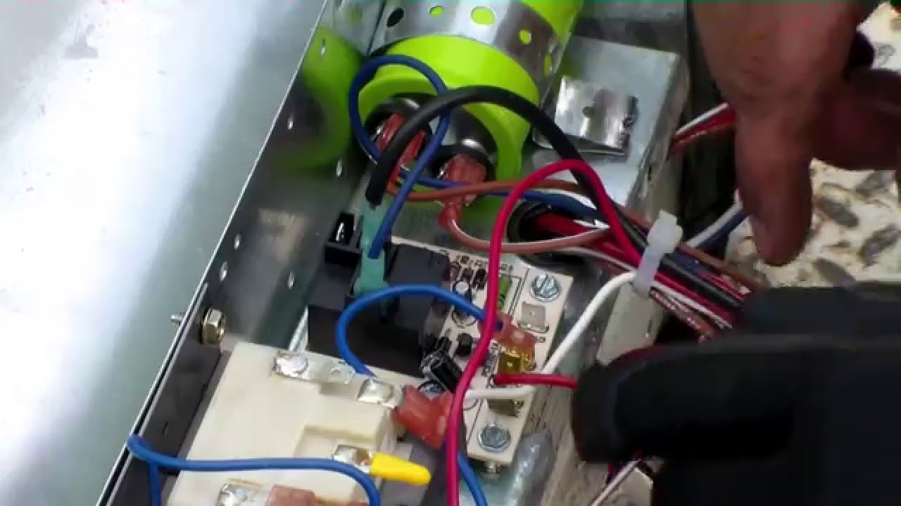 hvac ecm variable speed blower motor to psc motor conversion [ 1280 x 720 Pixel ]