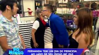 Domingo Legal (01/12/13) - A Princesa e o Plebeu - MC Gui realiza sonho de fã