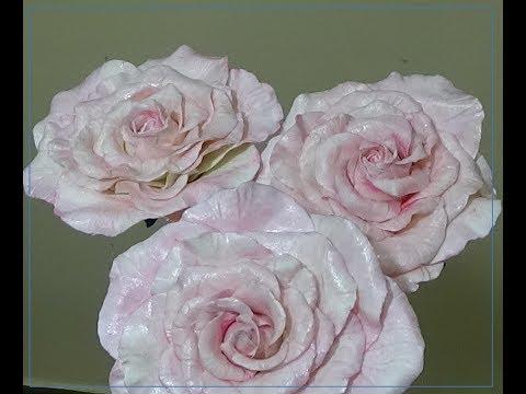Роза из фоамирана ручной работы Мастер классы и видео