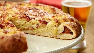 How To Make Bacon Mac And Cheese Pizza