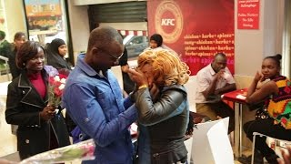 KENYA'S BEST SURPRISE MARRIAGE PROPOSAL AT KFC, KIMATHI ST, By VisualDo Weddings