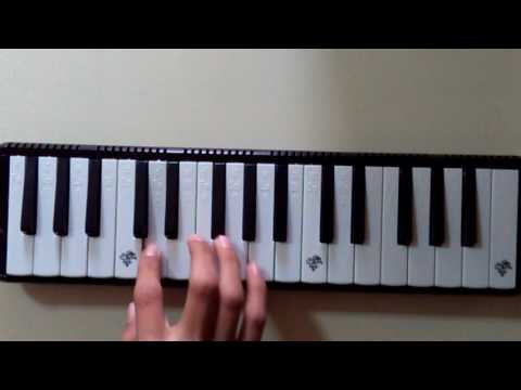 Mesneviden Ders Aldım melodika/çalınışı ve notaları