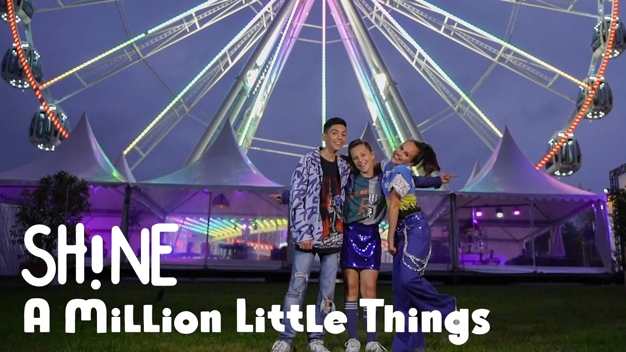 Download SH!NE - A MILLION LITTLE THINGS ✨ [OFFICIAL MUSIC VIDEO]   JUNIOR SONGFESTIVAL 2021 🇳🇱
