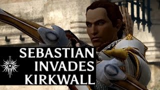 Dragon Age: Inquisition - Helping Aveline repel Sebastian