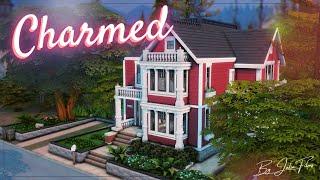 Зачарованные💫🔮│Строительство│Halliwell Manor│SpeedBuild│NO CC [The Sims 4]