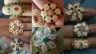 Rajputi Rings Design | Rajputi golden Rings | Jodha Akbar Anguthi Design | Rajputi  jewellery