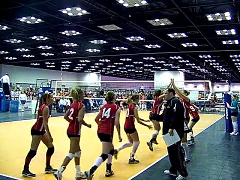2009 MEQ Mideast Qualifier - Panther VBC 16-1s Second Day First Match
