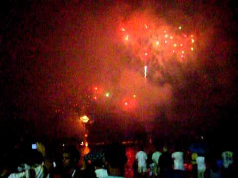Fogos Ano Novo Flamengo 2011