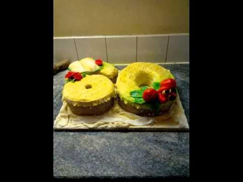 Jamaican theme 60th birthday cake ZiVa cakes YouTube