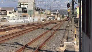 JR東日本E217系館山駅電留線入線4両編成。