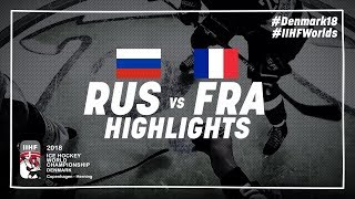 Game Highlights: Russia vs France May 4 2018 | #IIHFWorlds 2018