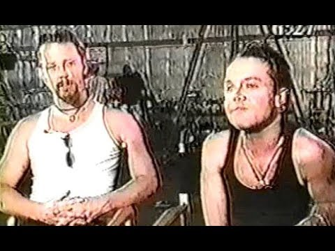 Metallica - San, Jose, CA, USA [1996.06.04] T.V. Interview