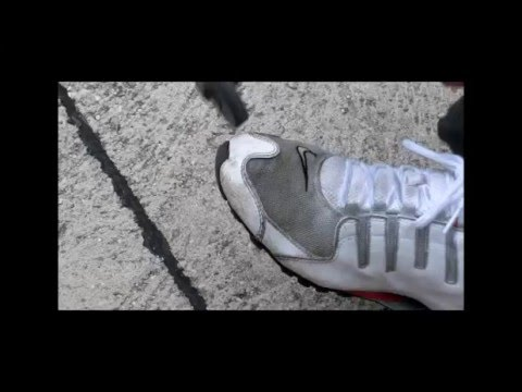 81074c265cb4 Trashing Nike Shox NZ  2 - YouTube